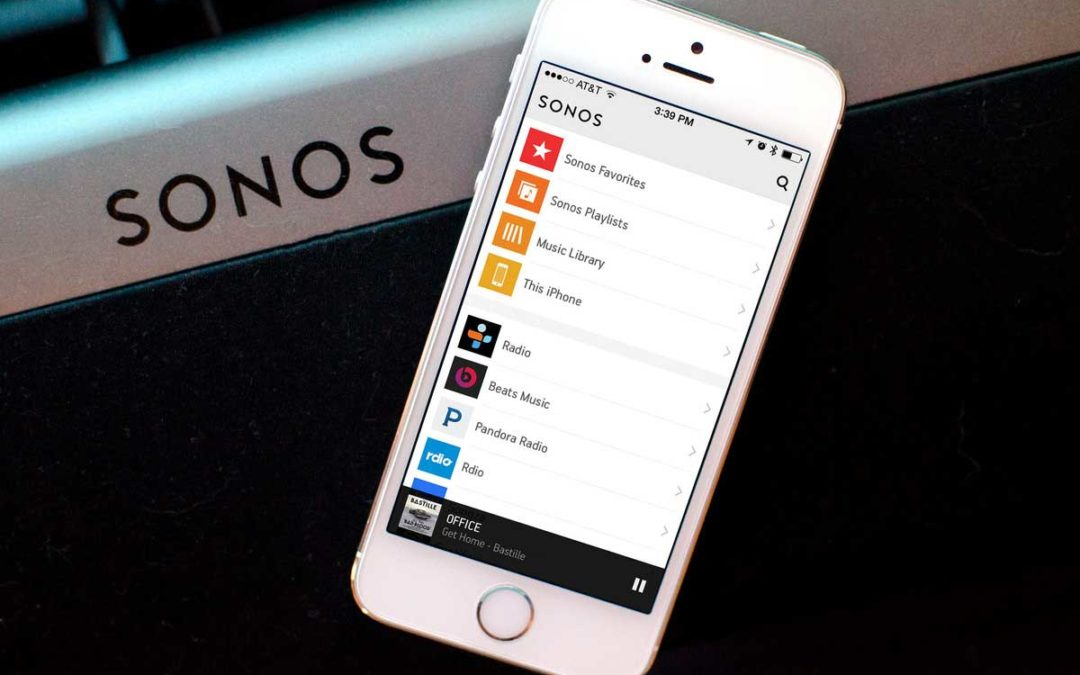 Modernise your stereo with Sonos Connect